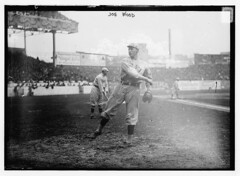 [Joe Wood, Boston AL, at Polo Grounds, NY, during World Series (baseball)]  (LOC) (The Library of Congress) Tags: wood newyork al baseball redsox libraryofcongress bostonredsox worldseries americanleague pologrounds joewood smokyjoe xmlns:dc=httppurlorgdcelements11 smokyjoewood 1912worldseries dc:identifier=httphdllocgovlocpnpggbain11520