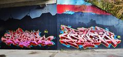 Peor  •   Pener (HBA_JIJO) Tags: streetart urban graffiti art france hbajijo wall mur painting letters peinture lettrage lettring writer spray urbex p19 paris91 arrow pener penner