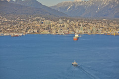 Vancouver Lookout @ Harbour Centre (GoToVan) Tags: lookout harbourcentre view downtown sunset seabus translink