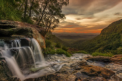 Moran's Falls Lamington (merbert2012) Tags: queensland australia sunset landscape longexposure reisen travel camping nature natureshiddensecrets hiking waterfalls nikond800 moranfallslamington