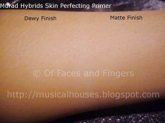 murad skin perfecting primer swatch 2