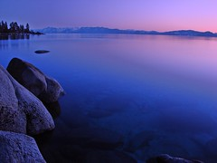 Sand Harbor Lake Tahoe Nevada (Scott M. McGuire) Tags: california ca nightphotography pink sunset copyright lake mountains purple sony nevada beautifullight laketahoe sierra mount nv rights sierranevada reserved allrightsreserved tallac sierranevadamountains sandharbor sonydsch5 scottmcguirephotography