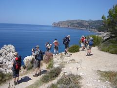 An der Nordküste von Mallorca, zwsichen Deià und Sóller