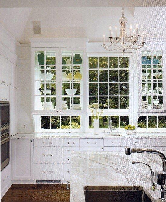 Sheffield Glass Cabinet Door - Cabinet Doors and Kitchen Cabinet Doors