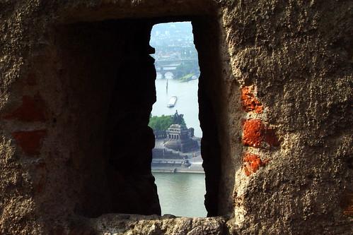 Koblenz - Kowwelenz - Festung Ehrenbreitstein / Deutsches Eck / German Corner / William I Monument
