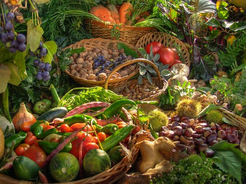 Frutta e verdura alla Fiera di Ottone