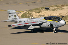 Grumman EA-6B Prowler -- VAQ-138 'Yellow Jackets' - NAS Whidbey Island, WA (BuNo 163887) (One Mile High Photography) Tags: airplane colorado nikond70 aviation sigma planes allrightsreserved 1000views planespotting militaryaircraft jetaircraft grandjunctionco kgjt aviationphotography modernaircraft militaryfighteraircraft coloradophotographer sigmaapo70200mmf28exdghsmmacro adobephotoshopelements50 grandjunctionregionalairport vaq138yellowjackets grummanea6bprowler electronicwarfareaircraft coloradoshooter onemilehighphotography wwwomhphotoscom 2013louisdepaemelaere