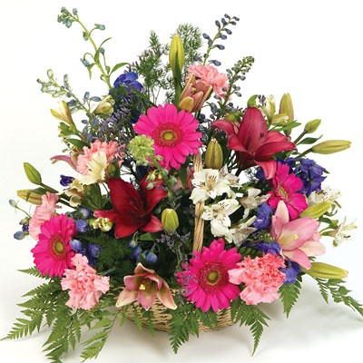 Floral basket Arrangement (HHD2.00