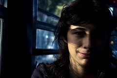 Stefyp (morning lord) Tags: light portrait window girl face shadows expression ombre sorriso luci ritratto ragazza diecicentopeople morninglord stefyp davidegreco