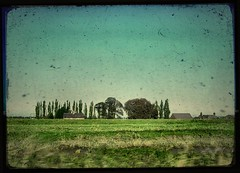 (And Soon the Darkness) Tags: blue sky green texture digital countryside fake fields jiggerypokery helluva ttv samsungdigimax aplusphoto