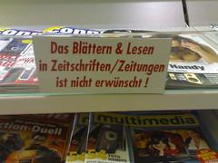 Nicht lesen!