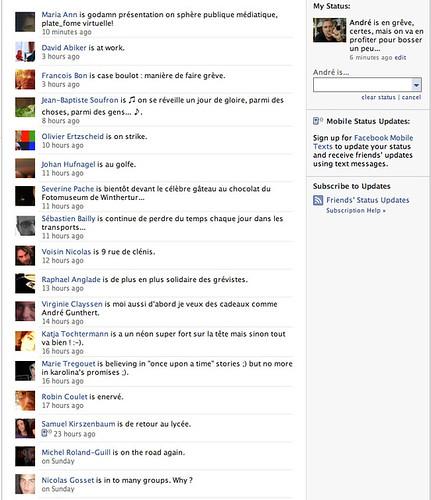 funny facebook statuses. a funny Facebook status is