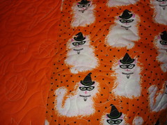 Example of long arm quilting