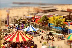 A Coney Island of the Mind (Manzari) Tags: nyc beach brooklyn coneyisland boardwalk amusements ferlinghetti tiltshift