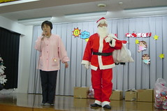 サンタさんがやってきた