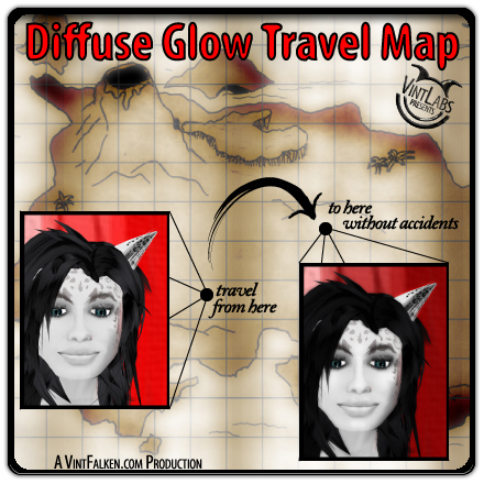 Vint's Diffuse Glow Travel Map