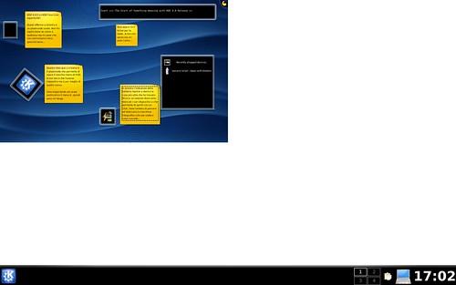 KDE4 - Desktop zoomout