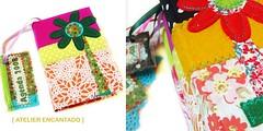 [ Agenda A6 ::35 ] ( Atelier Encantado ) Tags: vintage calendar oldphotos fabrics tecidos fitas fotosantigas diarys gales agendas atelierencantado