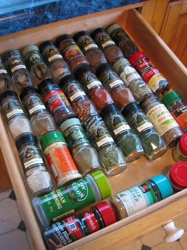 love my spice drawer