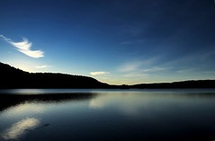 Morning Has Broken (Thomas Borgen Ha) Tags: morning blue winter sky lake water oslo norway sunrise landscape hdr kolbotn gjersjen oppegrd akerhus tamron1750mmf28 nikond80