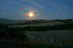 moony blues (go wild - NZ outside) Tags: park new moon belmont full zealand nz wellington regional feb08