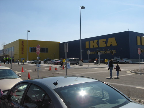Finally, an IKEA close by