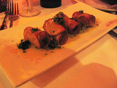 Plouf Potato Wrapped Scallops