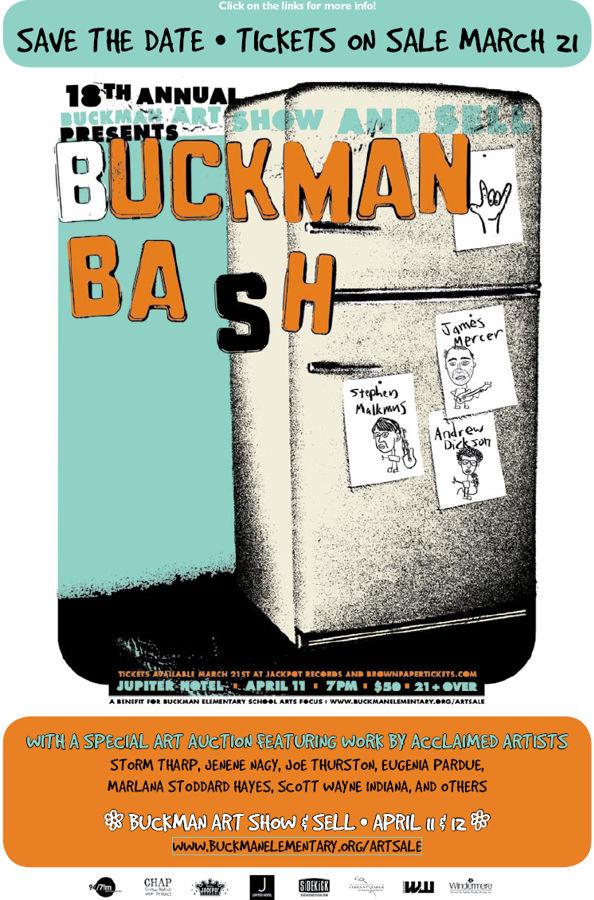 Buckman Bash - April 11