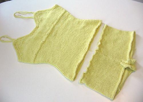 Silk and Pearls Cami & Boy Shorts