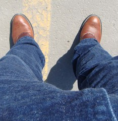 olathe00873 (clockner2) Tags: brown leather cowboy boots