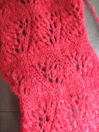 BFL scarf closeup