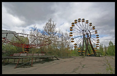 Chernobyl/Pripyat, Ukraine (8333696) Tags: chernobyl pripyat ukraine abandoned city nuclear reactor 4 soviet cccp russia disaster ghost town fairground ferris wheel children childs funfair fun fair deserted empty derelict silent stalker radiation kiev kyiv europe dodgems call duty winston marshall mumford sons closed shut down diaries film horror movie paranormal activity