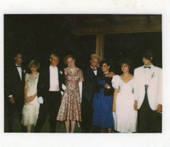 When New Wavers go to Prom. (sparkleneely) Tags: juniorprom bob prom 1980s