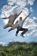 Mike & Jens Jump!