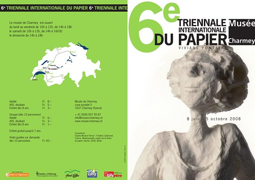6ème triennale internationale du papier
