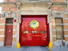 E073 FDNY Firehouse Engine 73, East Morrisania, Bronx, New York City (jag9889) Tags: county city nyc house ny newyork building station architecture truck fire bronx engine company borough firehouse 2008 fdny firefighters 73 bravest shithouse prospectavenue morrisania e073 y2008 engine73 eastmorrisania lacasacaca lacasadelelefante jag9889