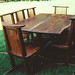 Walnut Nakashima Dining Set