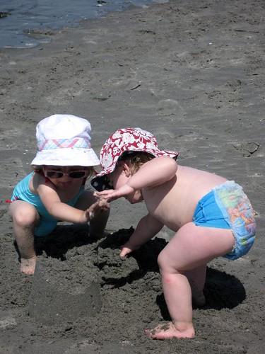 destroying sand castles