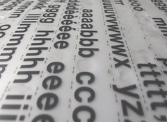 Letraset (only lines) Tags: letraset letters transfers