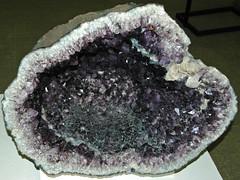 Amethyst geode (Serra Geral Formation, Lower Cretaceous; southeastern Brazil) 1 (James St. John) Tags: amethyst quartz silicate silicates mineral minerals brazil serra geral formation cretaceous geode geodes