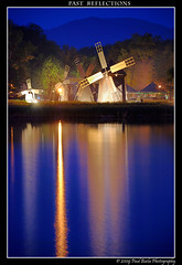 Past reflections (Paul Bil) Tags: light reflection water windmill museum night saturated nikon village quality tripod bluesky best romania 2009 sibiu noapte noaptea 18135 d80 platinumphoto nopti nikonflickrawardgold outstandingromanianphotographers