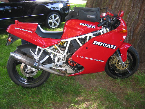 Ducati 900SS at OVM Vintage Motorcycle Show Corvallis
