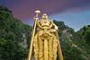 Standing Tall (Souvik_Prometure) Tags: sunset temple malaysia kualalumpur hindu batucaves selangor murugan sigma1020mm lordmurugan nikond80 murugun lordmurugun souvikbhattacharya