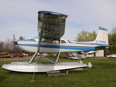 C-FRHI Cessna 180G Skywagon II @ St-Mathias CSV9 hydrobase DSC_8858 (djipibi) Tags: airport ii 2009 cessna aroport 180g skywagon stmathias hydrobase csp5 cubtoberfest csv9 cfrhi
