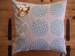front of pillow cover (sewtakeahike) Tags: quilt quilting quilts patchwork quiltblocks