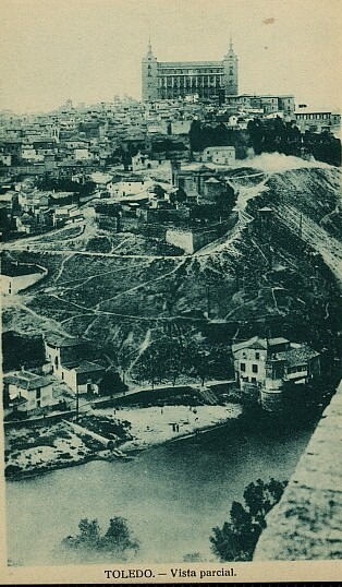 Casa del diamantista hacia 1935. Foto H.A.E.