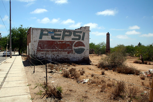 Todos Santos - Pepsi Ghost Sign