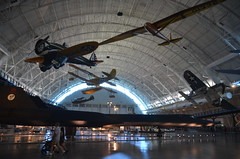 Steven F. Udvar-Hazy Center: Profile view of t...