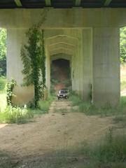 Dave drives UNDER the Highway 39 bridge