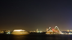 Time to say Good-By (simondownunder) Tags: panorama night tripod sydney australia australien exchange downunder uts longtime hugin yearabroad